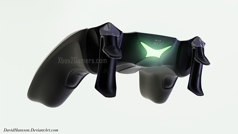 Xbox 2 Controllers Detailed View